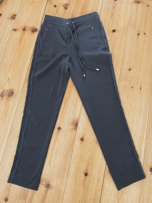 Pantalón elástico gris oscuro