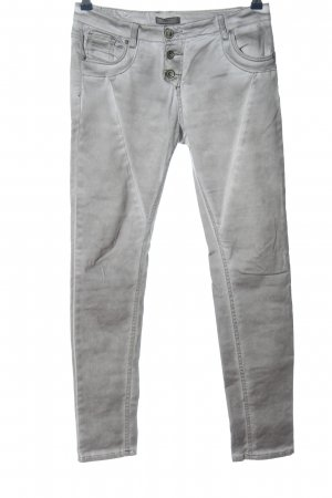 Daysie Five-Pocket Trousers light grey casual look