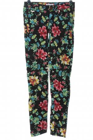 Daysie Low-Rise Trousers allover print casual look