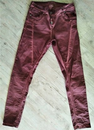 Daysie Baggy Pants purple-carmine