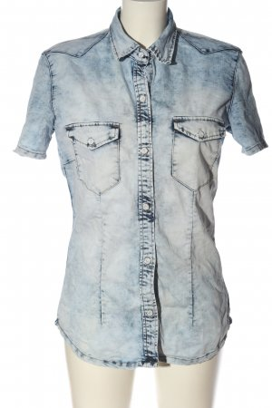 Daysie Denim Shirt blue casual look