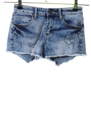 Daysie Denim Shorts blue casual look