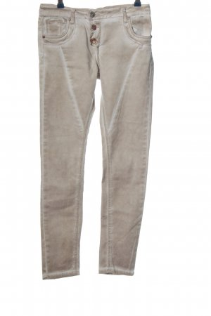 Daysie Drainpipe Trousers light grey casual look
