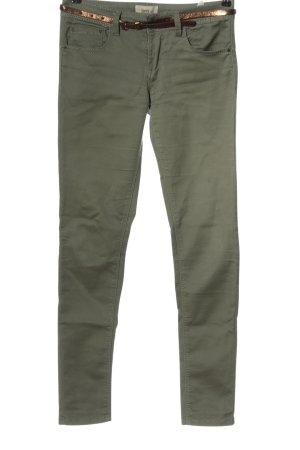 Daysie Tube Jeans khaki-brown casual look