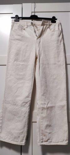 SheIn Jeans flare crème-beige clair