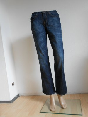 Boot Cut Jeans dark blue-blue