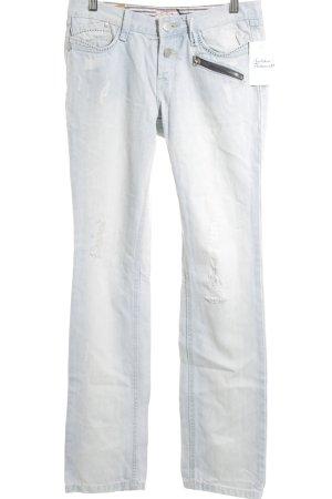 DBC Straight Leg Jeans light blue street-fashion look