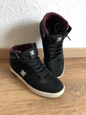 DC Zapatos de patinador negro-blanco
