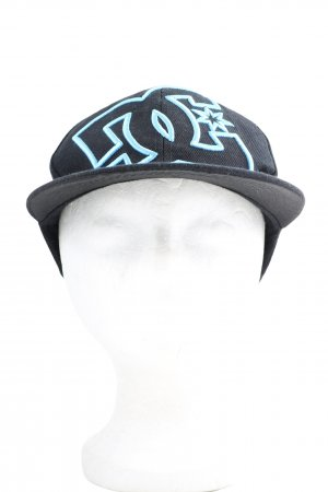 DC Shoes Baseball Cap black-turquoise printed lettering casual look