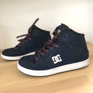 DC Shoes Chaussure skate bleu foncé-blanc