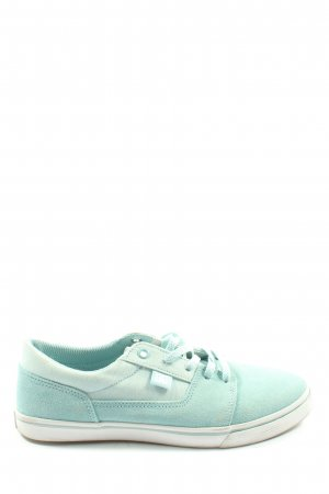 DC Shoes Lace-Up Sneaker turquoise casual look