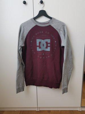 DC Sweat Shirt grey-bordeaux