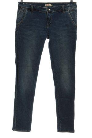 Ddp Jeans vita bassa blu stile casual