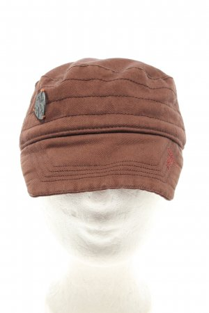 Ddp Visor Cap brown casual look