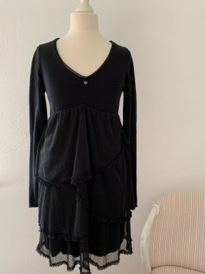 Ddp Mini Dress black cotton