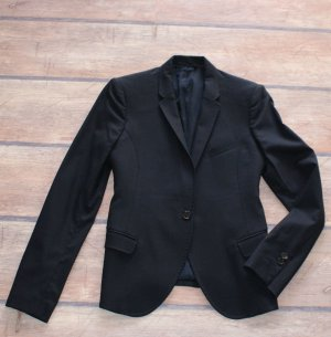 Neil Barrett Blazer de lana negro lana de esquila