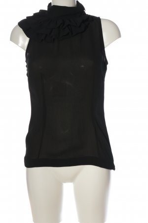 de.corp by Esprit ärmellose Bluse schwarz Elegant