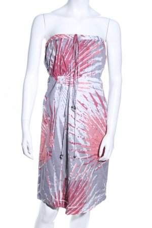 de.corp by Esprit Bandeau Dress abstract pattern casual look