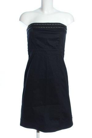 de.corp by Esprit Vestido bandeau negro look casual