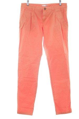 de.corp by Esprit Chinohose orange Casual-Look