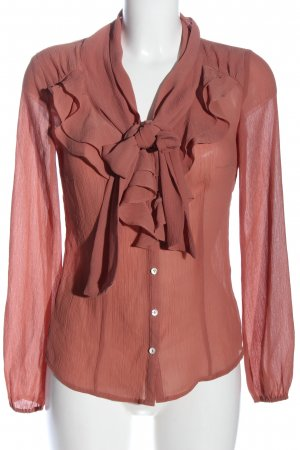 de.corp by Esprit Hemd-Bluse pink Casual-Look