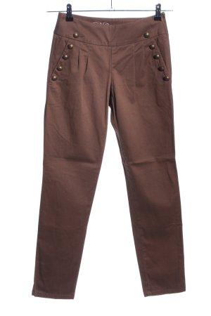 de.corp by Esprit Pantalone a vita bassa marrone stile casual