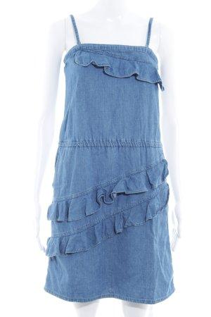 de.corp by Esprit Jeanskleid stahlblau Jeans-Optik