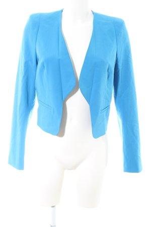 de.corp by Esprit Kurz-Blazer blau Business-Look