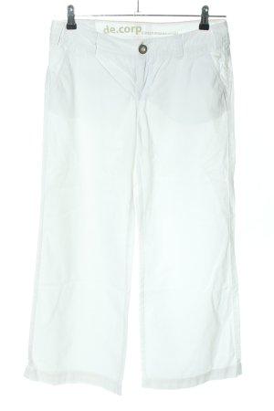 de.corp by Esprit Pantalone Marlene bianco stile casual