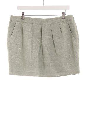 de.corp by Esprit Mini-jupe vert pâle moucheté style d'affaires
