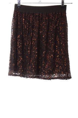 de.corp by Esprit Mini-jupe orange clair-brun élégant