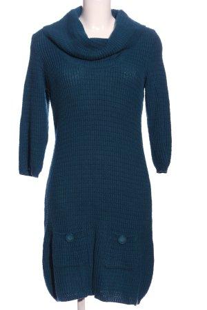 de.corp by Esprit Robe pull bleu torsades style décontracté