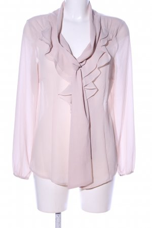 de.corp by Esprit Schluppen-Bluse pink Business-Look