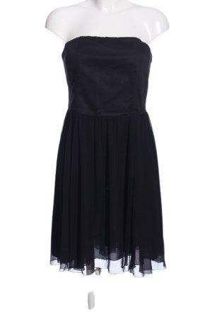 de.corp by Esprit schulterfreies Kleid schwarz Casual-Look