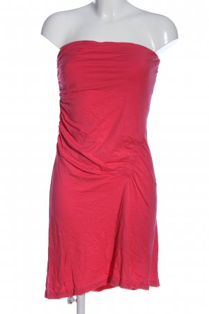 de.corp by Esprit schulterfreies Kleid pink Casual-Look
