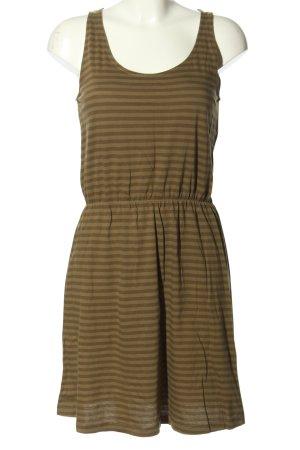 de.corp by Esprit Shirtkleid braun-bronzefarben Streifenmuster Casual-Look