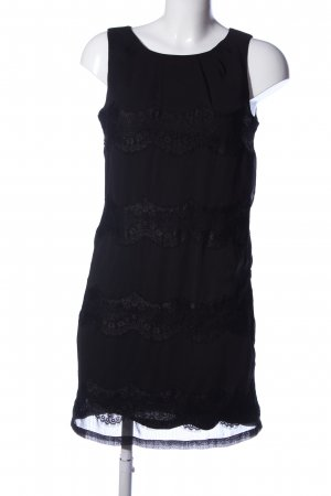 de.corp by Esprit Spitzenkleid schwarz Business-Look