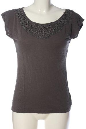 de.corp by Esprit Boatneck Shirt light grey casual look