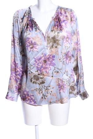 Dea Kudibal Long Sleeve Blouse flower pattern business style