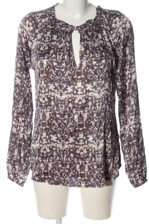 Dea Kudibal Silk Blouse allover print casual look