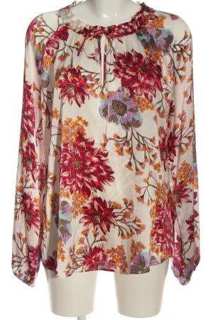 Dea Kudibal Jedwabna bluzka Wzór w kwiaty W stylu casual