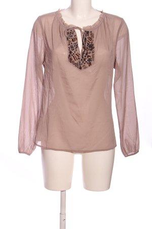 Dea Kudibal Transparenz-Bluse pink Business-Look