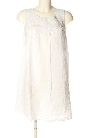 Deane & White Vestido playero crema look casual