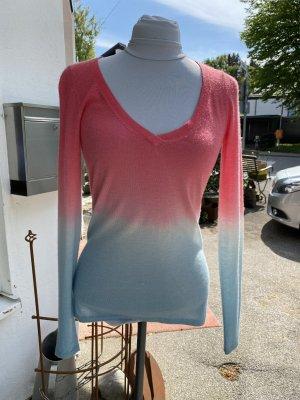 Dear Cashmere Cashmere Jumper pink-light blue