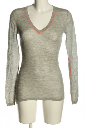 Dear Cashmere Cashmere Jumper light grey-pink casual look