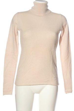 Dear Cashmere Cashmere Jumper cream casual look