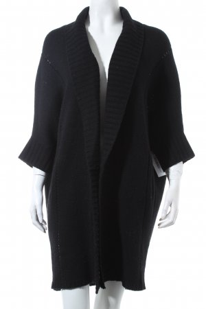 Dear Cashmere Knitted Cardigan black casual look