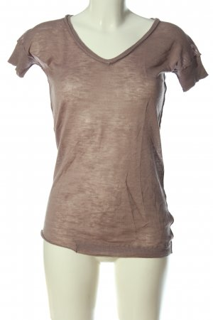 Dear Cashmere Knitted Jumper brown flecked casual look