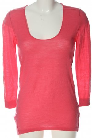 Dear Cashmere Wollpullover pink Casual-Look