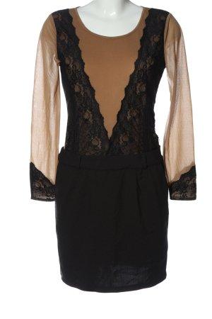 Debby Debo Longsleeve Dress black-brown elegant